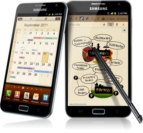 Samsung Galaxy Note Features