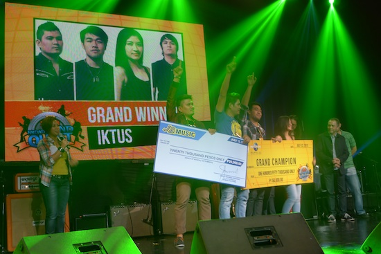 Iktus Band Grand Winner at 2013 Sun Broadband Quest