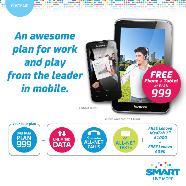 Smart UnliData 999 Plan